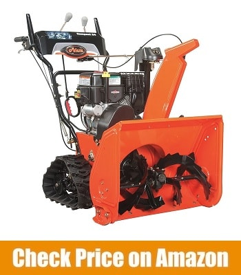 ARIENS ST24LET COMPACT TRACK DUAL-STAGE ELECTRIC START GAS SNOW BLOWER