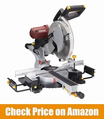 CHICAGO PNEUMATIC DOUBLE-BEVEL SLIDING COMPOUND MITER SAW