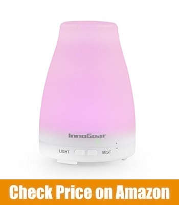 Inno Gear Aromatherapy Portable Ultrasonic Essential Oil Diffuser
