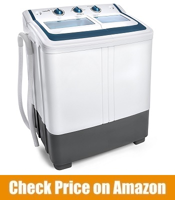 Ivation Small Compact Portable Washing Machine