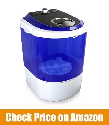 Pyle Electric Small Portable Compact Washing Machine